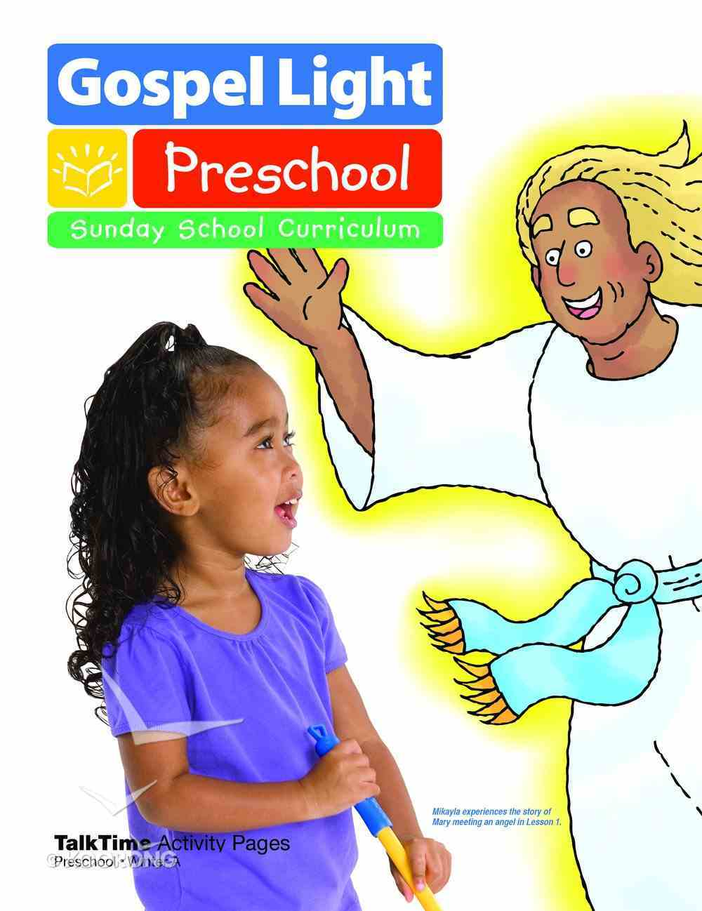 Winter a 2020 Ages 2/3 Talktime Activity Pages (Gospel Light Living Word Series) Paperback