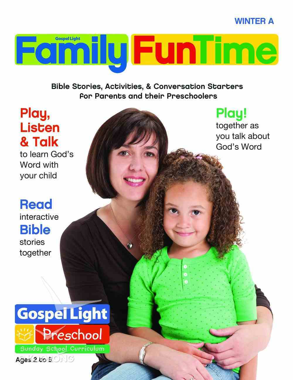 Gllw Wintera 2020 Ages 2-5 Family Funtime Pages (Gospel Light Living Word Series) Paperback