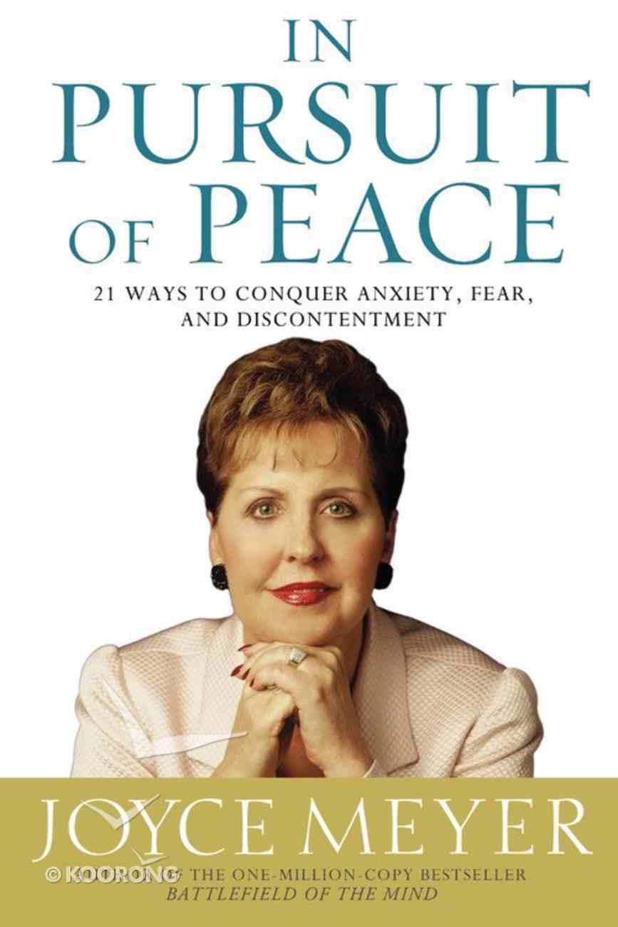 In Pursuit of Peace Hardback