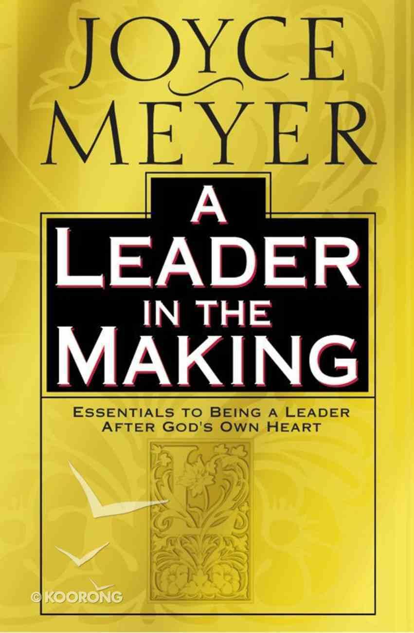 A Leader in the Making Hardback