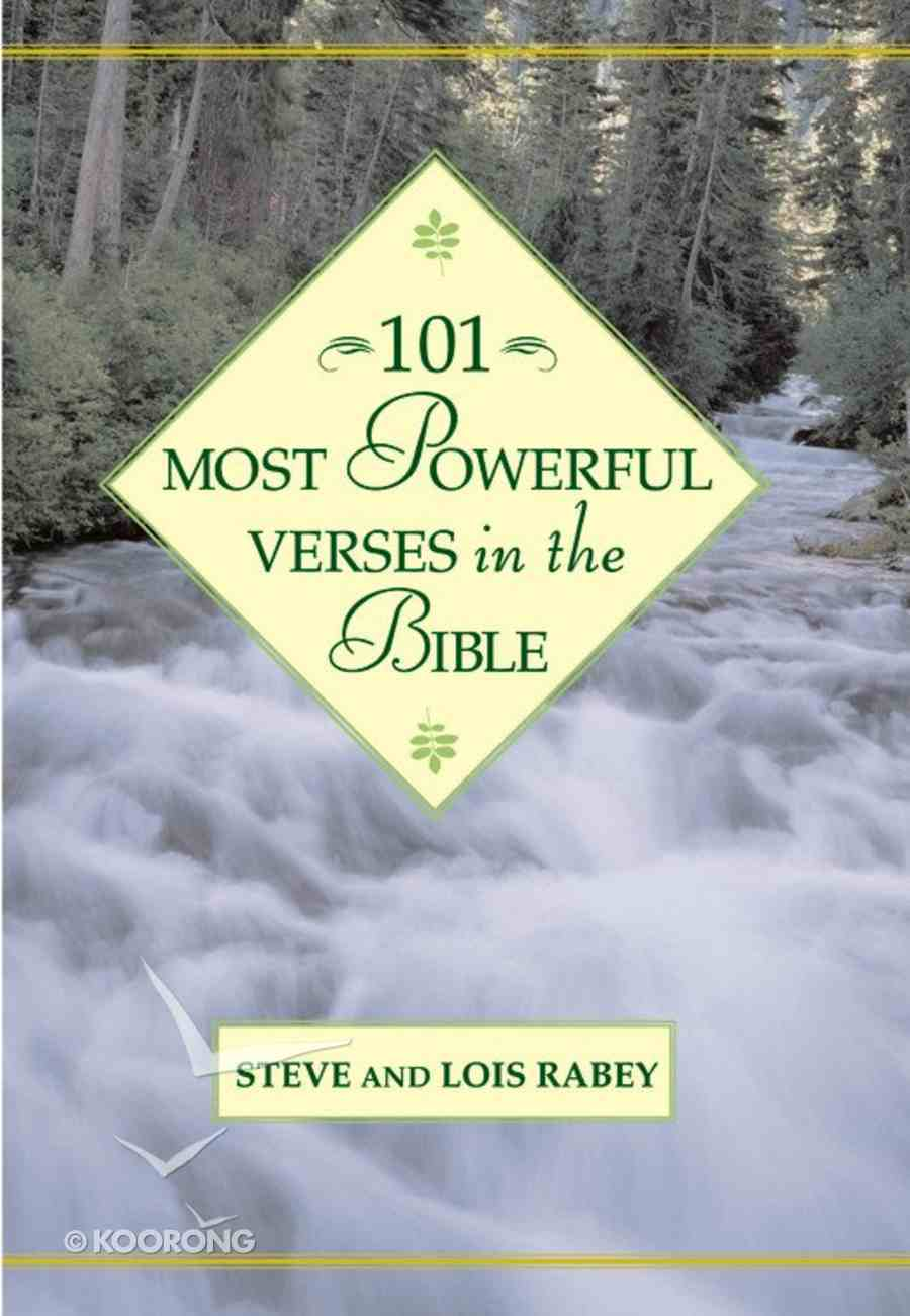 101 Most Powerful Verses in the Bible Hardback