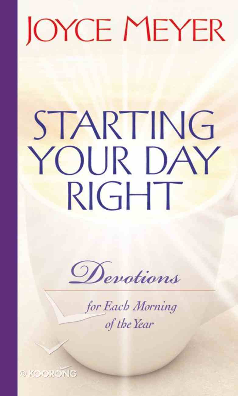 Starting Your Day Right Hardback