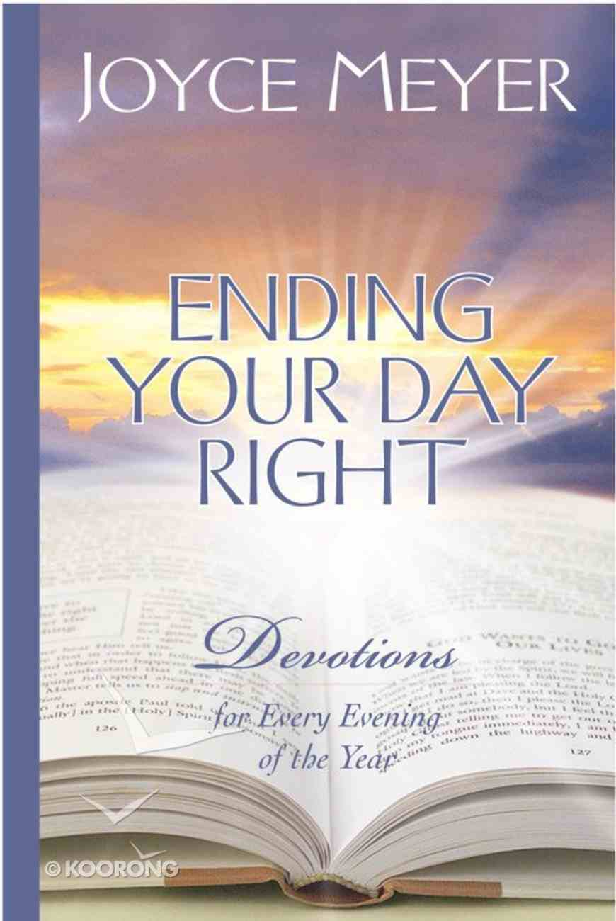 Ending Your Day Right Hardback