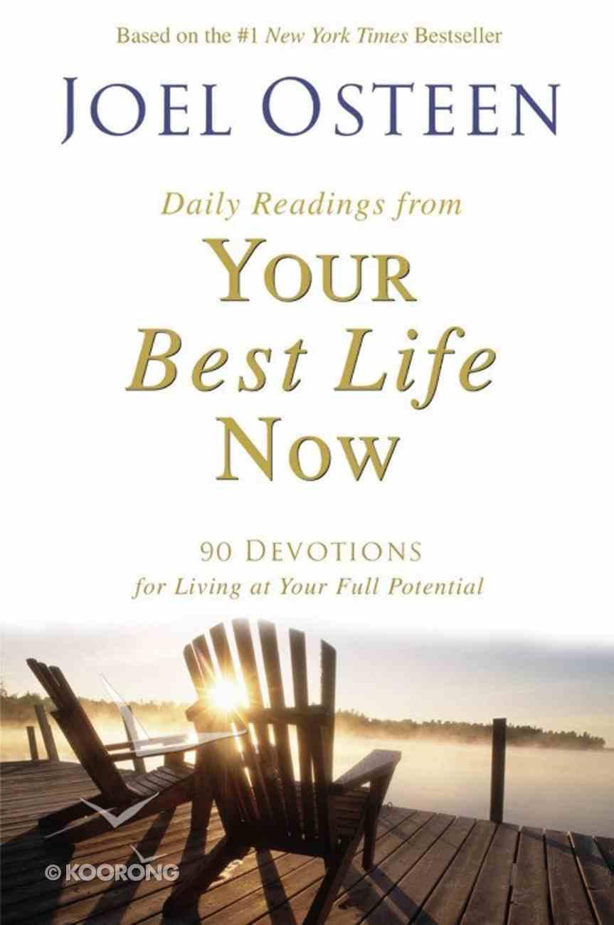 Your Best Life Now Devotional Hardback