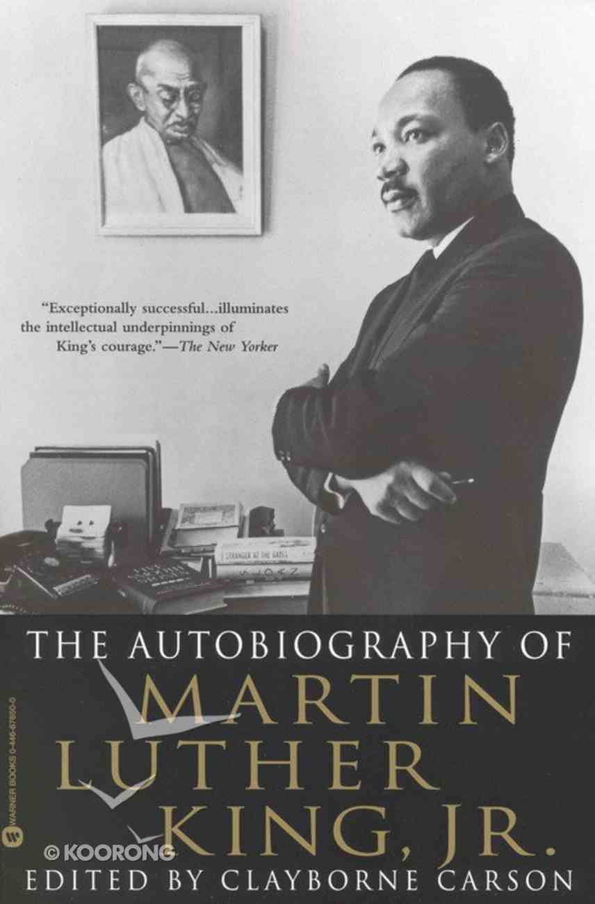 The Autobiography of Martin Luther King Jr Paperback