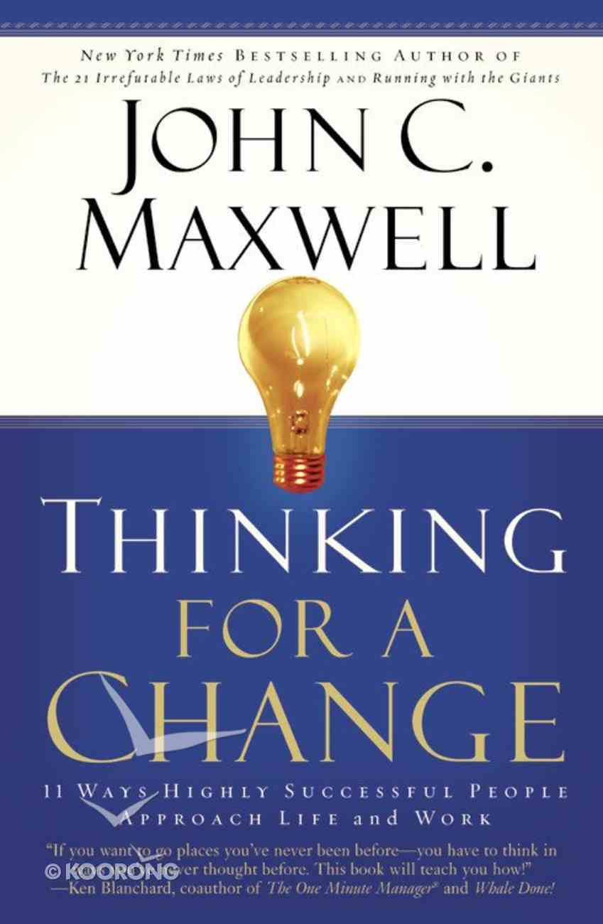 Thinking For a Change Paperback