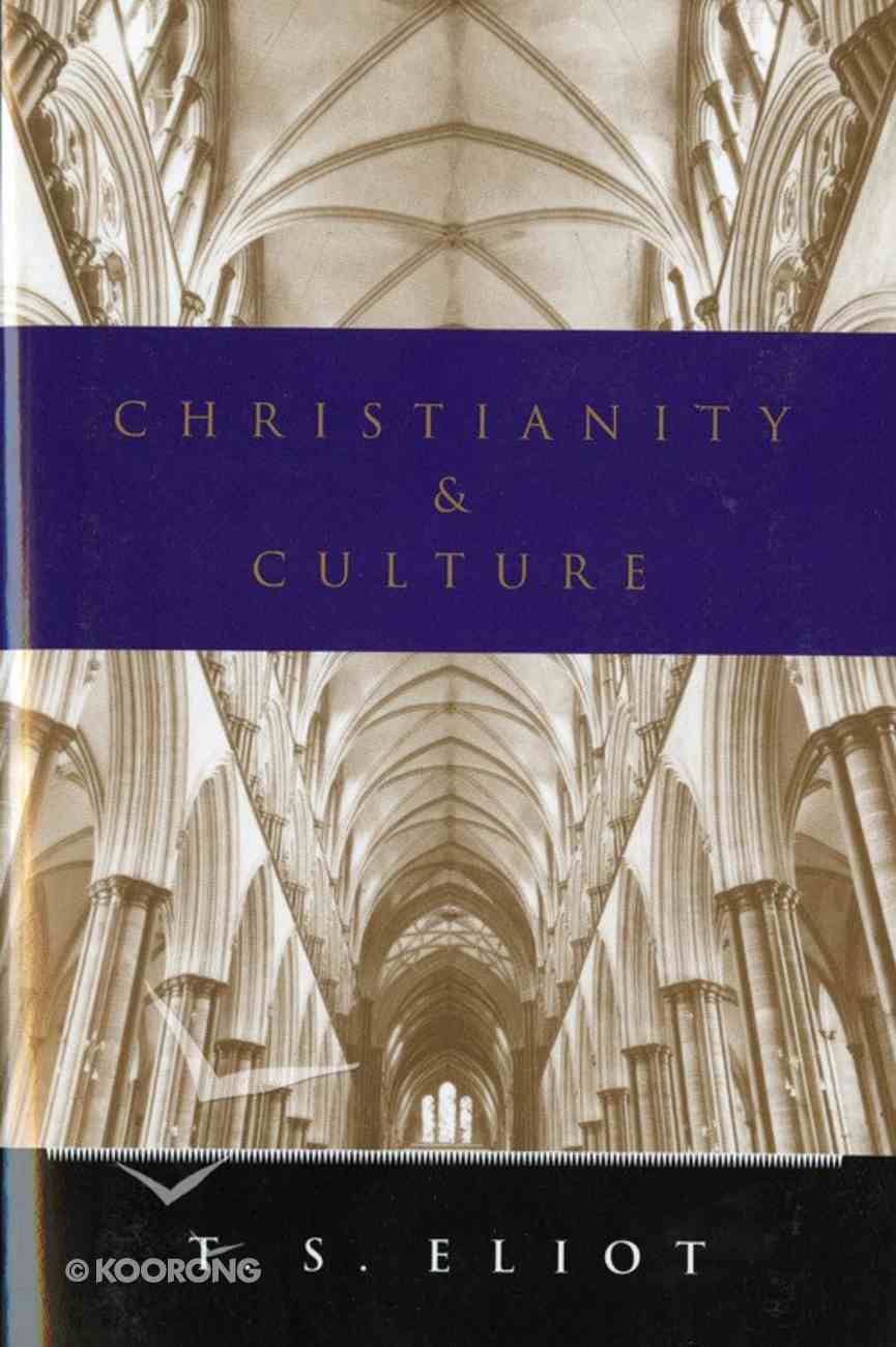 Christianity and Culture Paperback