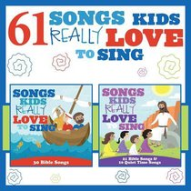 Album Image for 61 Songs Kids Really Love to Sing Double CD - DISC 1
