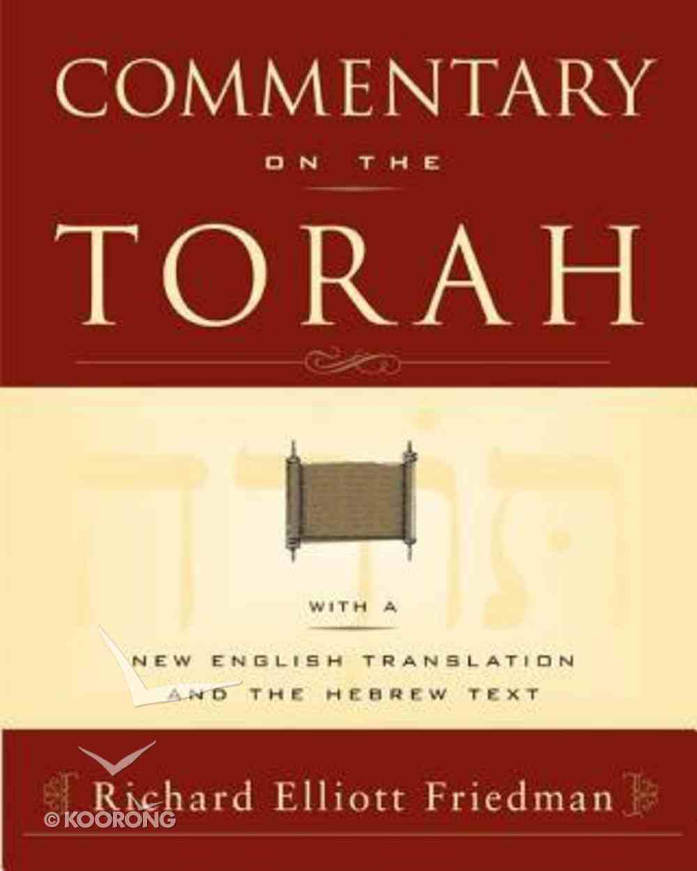 Commentary on the Torah Paperback