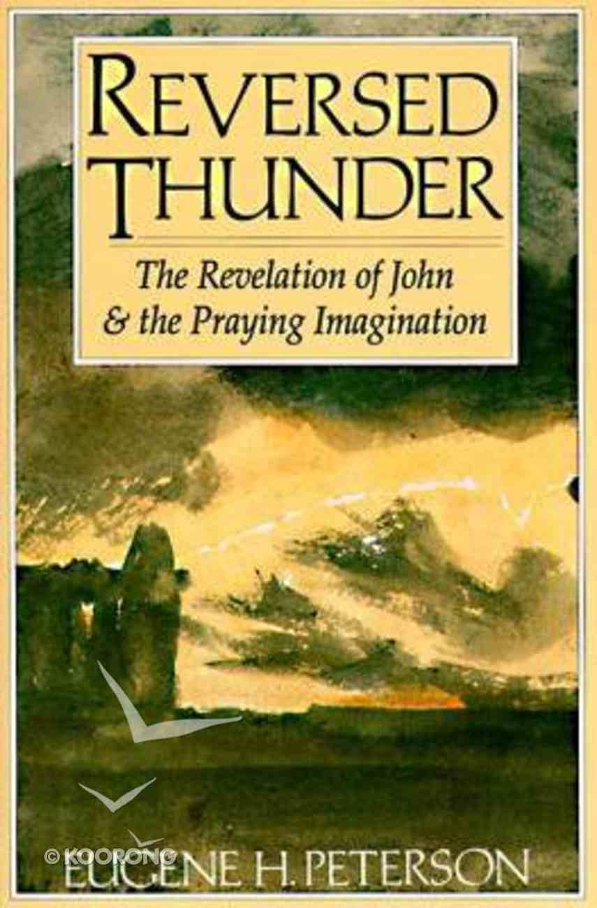 Reversed Thunder Paperback
