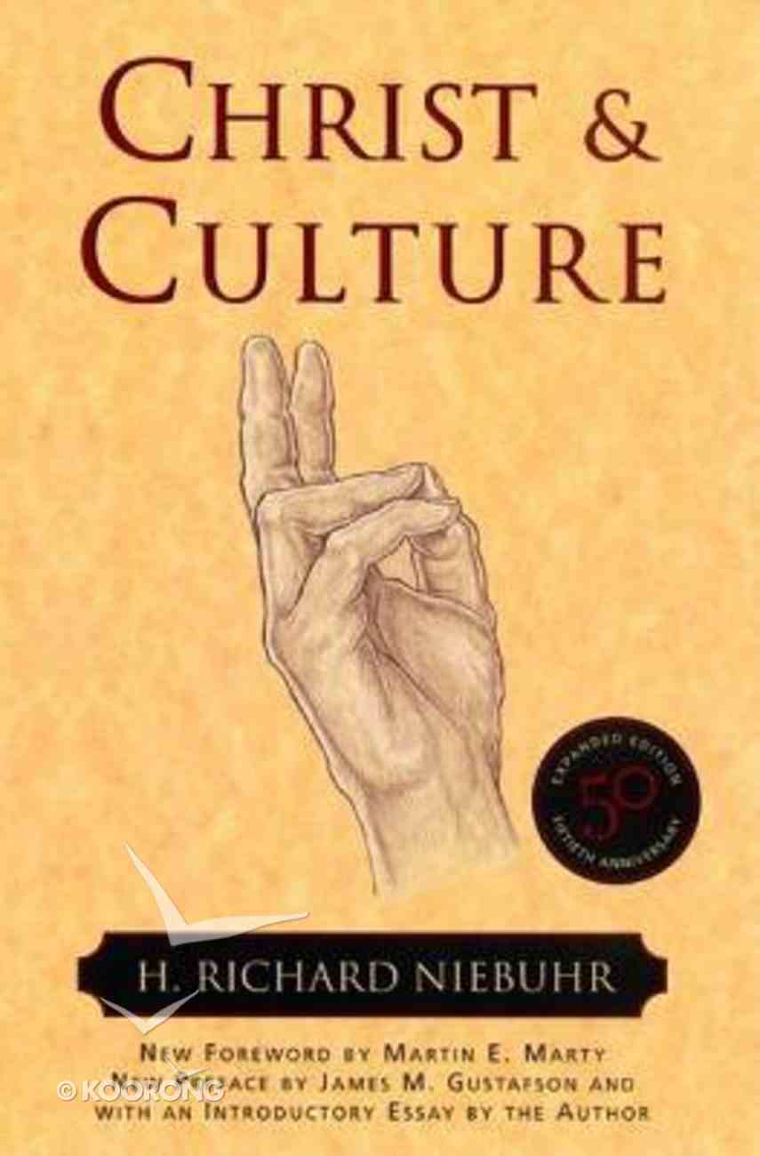 Christ and Culture Paperback