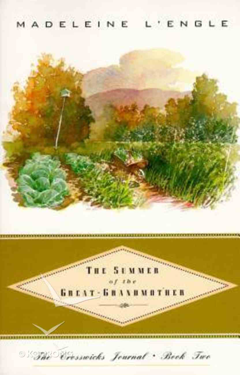 Summer of the Great Grandmother Paperback