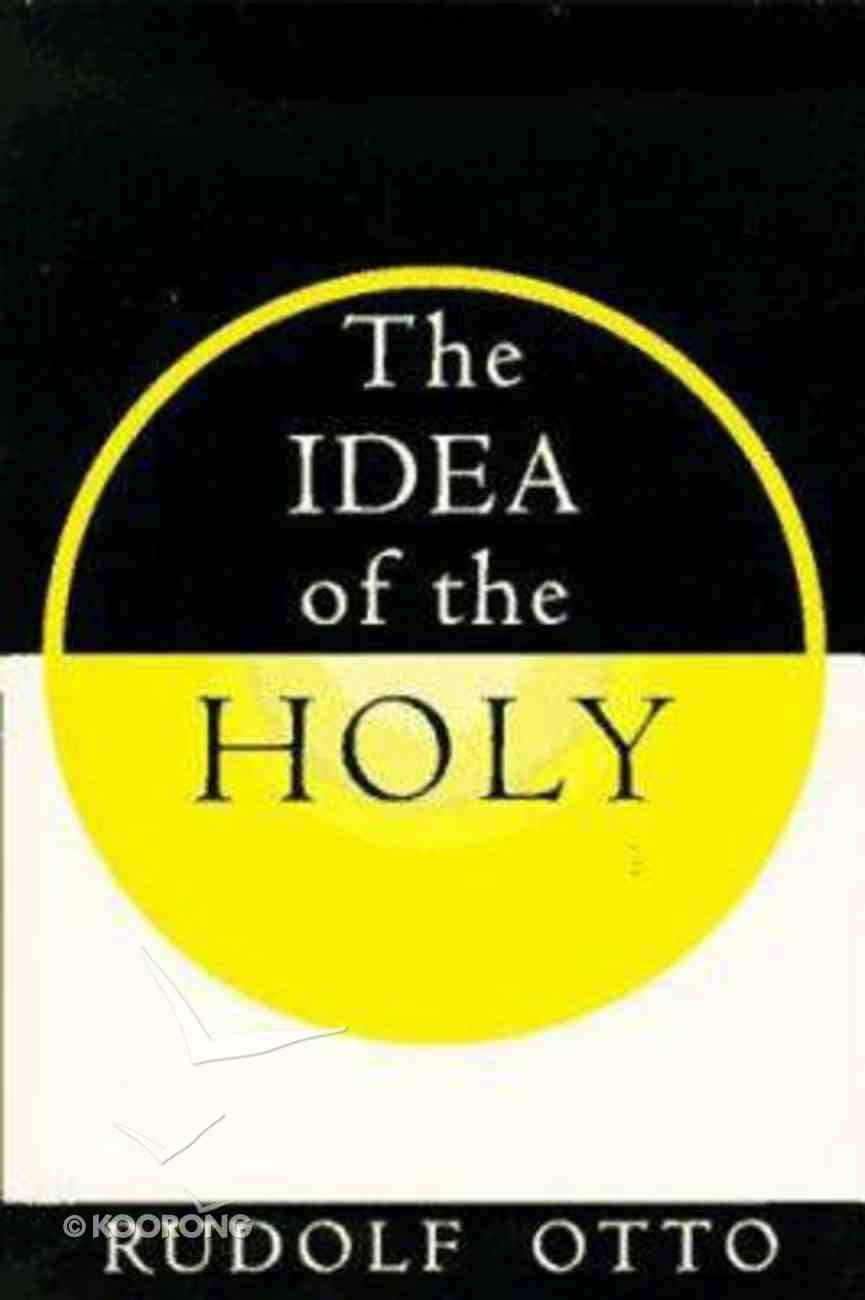 Idea of the Holy Paperback
