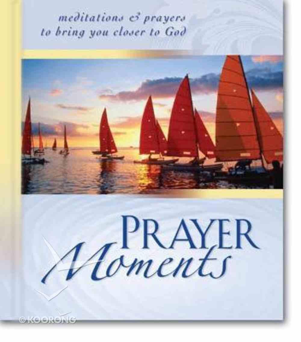 Prayer Moments Hardback