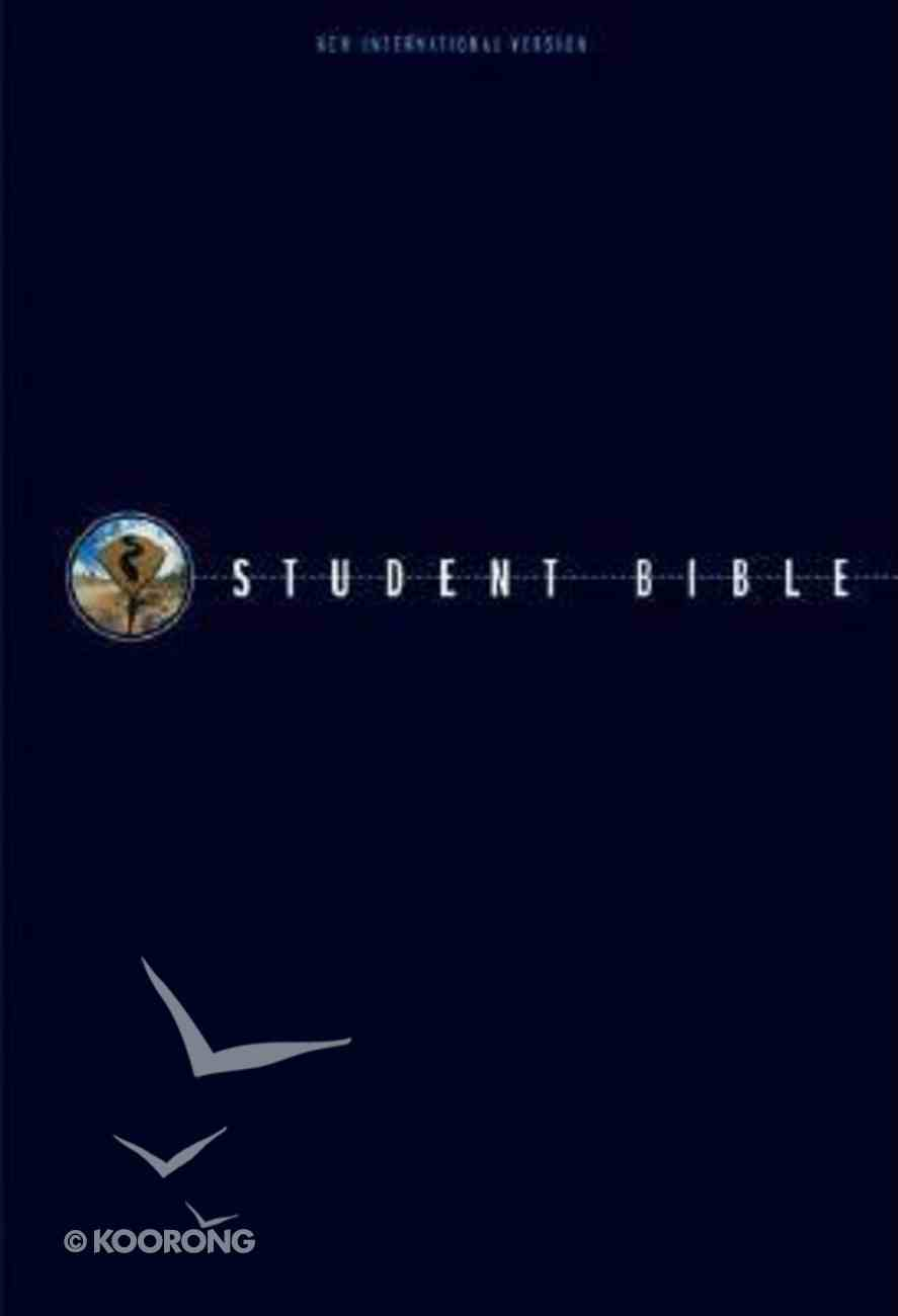 NIV Student Bible British Tan Premium Indexed (2002) Bonded Leather