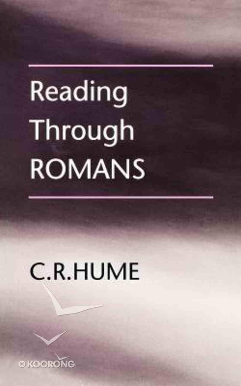 Reading Through Romans Paperback