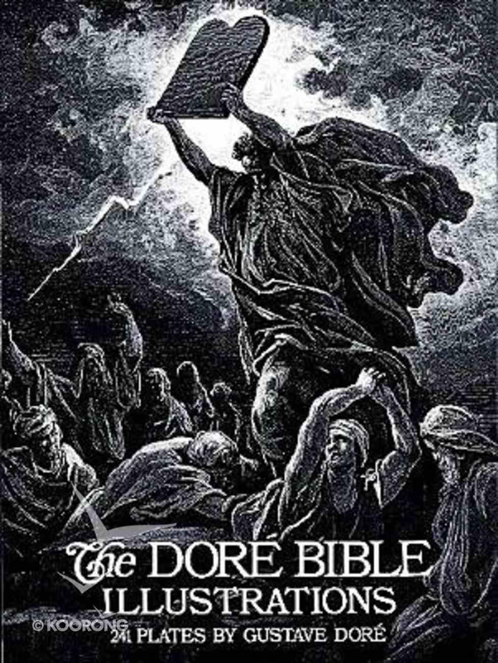 Dore Bible Illustrations Paperback