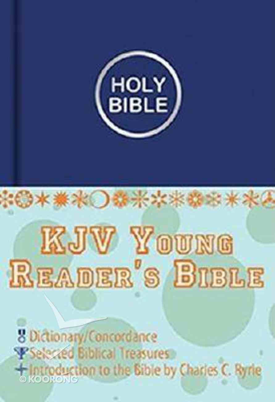 KJV Young Reader's Illustrated Blue Imitation Leather