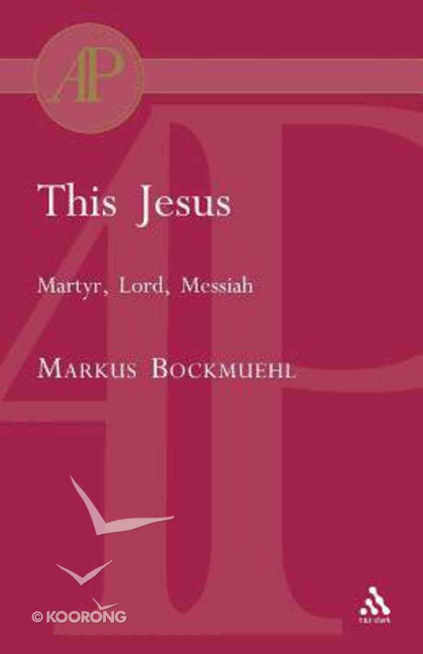 This Jesus Paperback