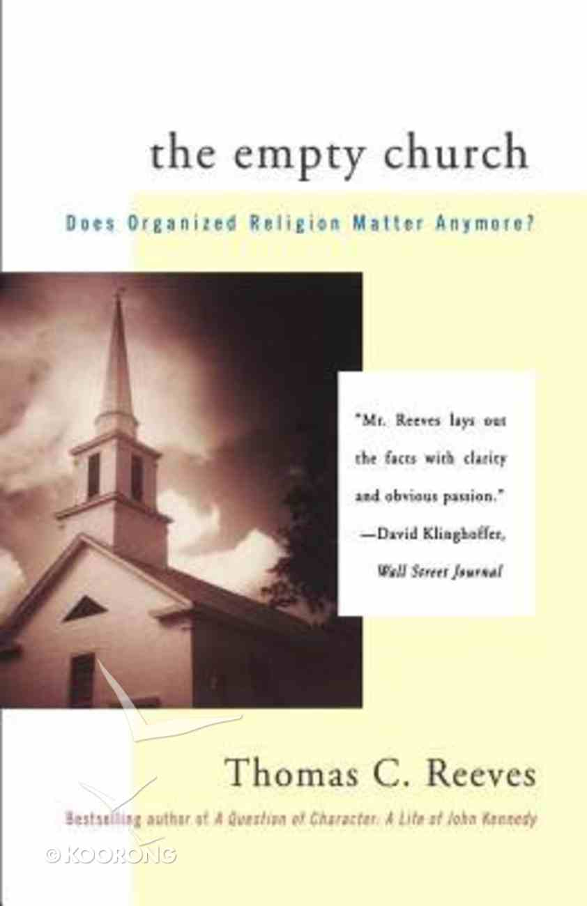 The Empty Church: Suicide of Paperback