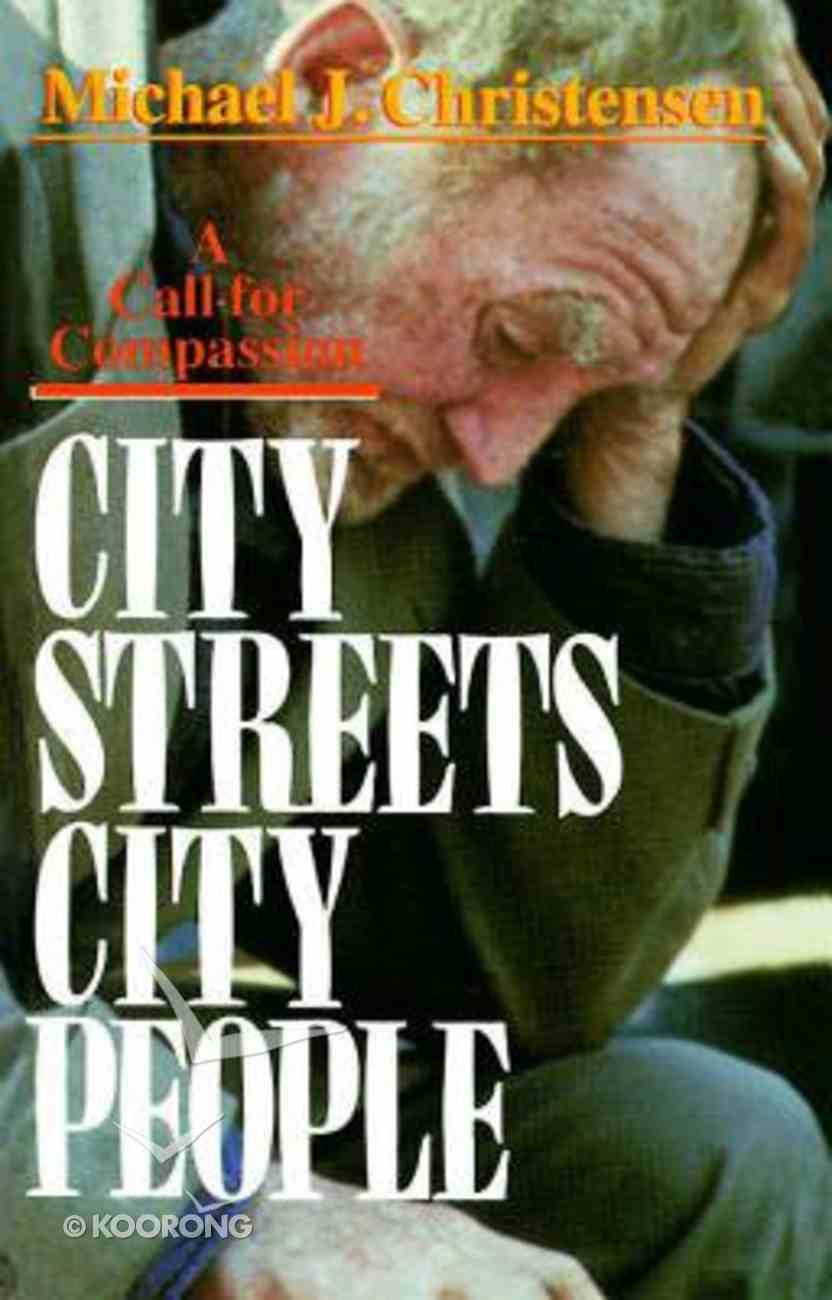 City Streets, City People Paperback