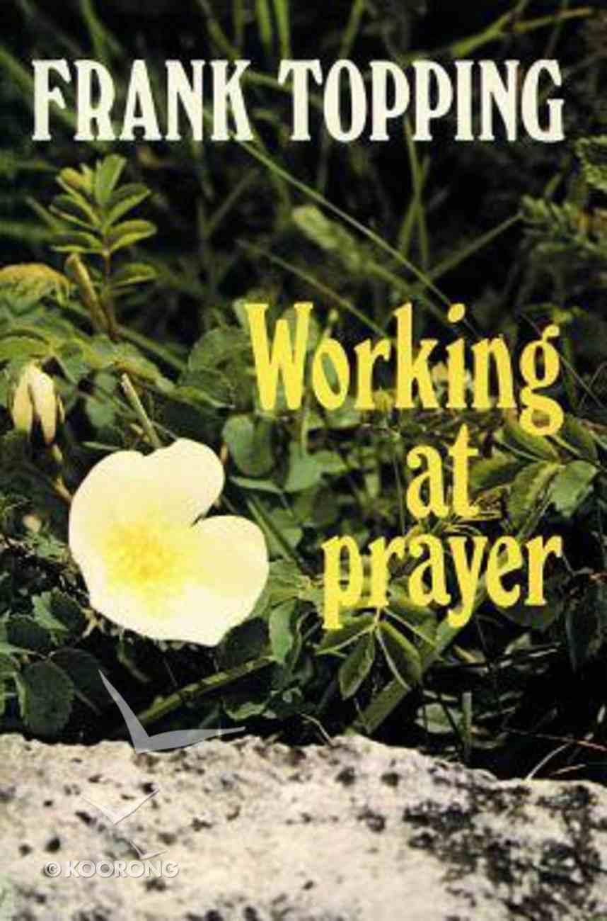 Working At Prayer Paperback