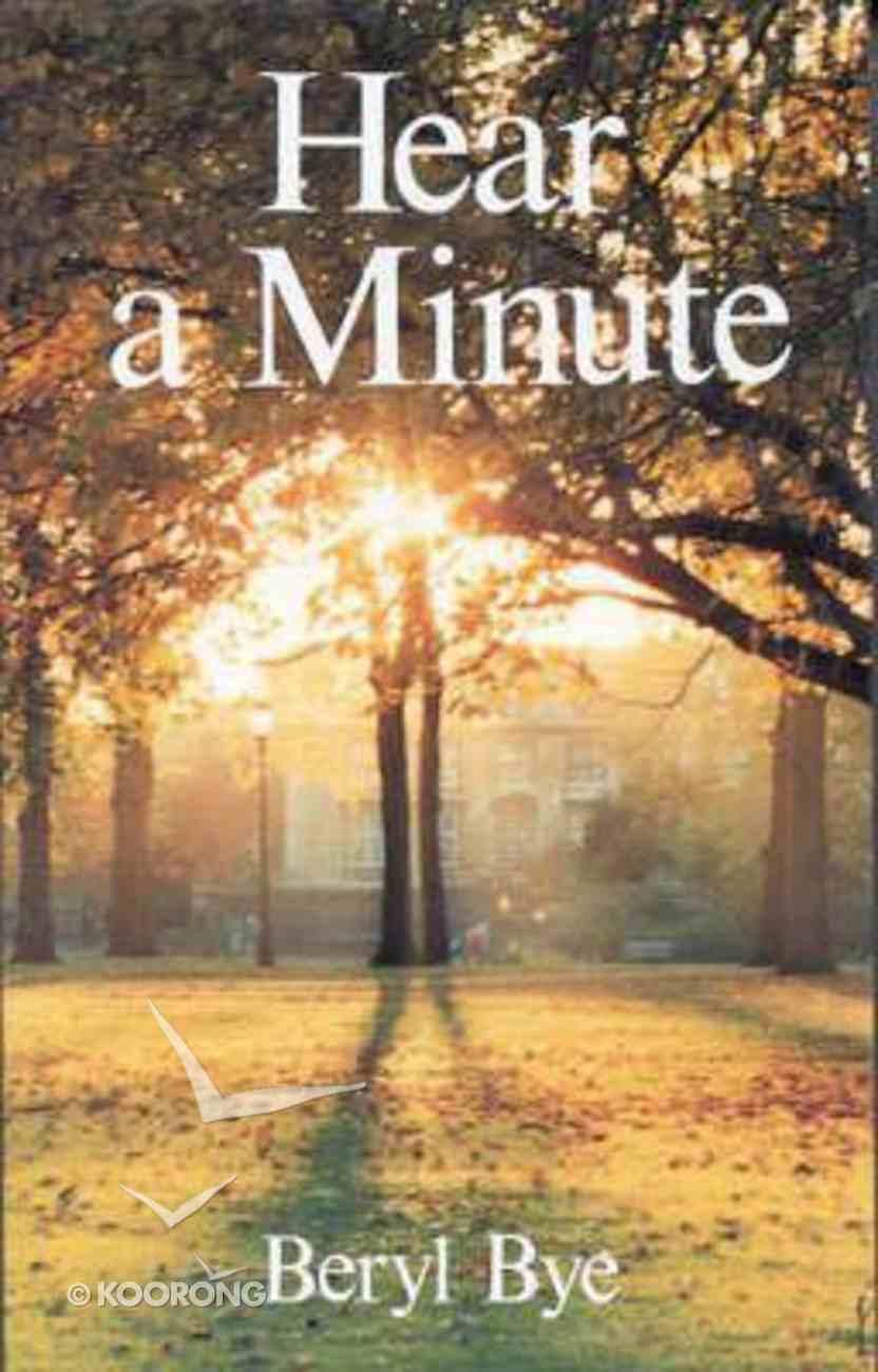 Hear a Minute Paperback
