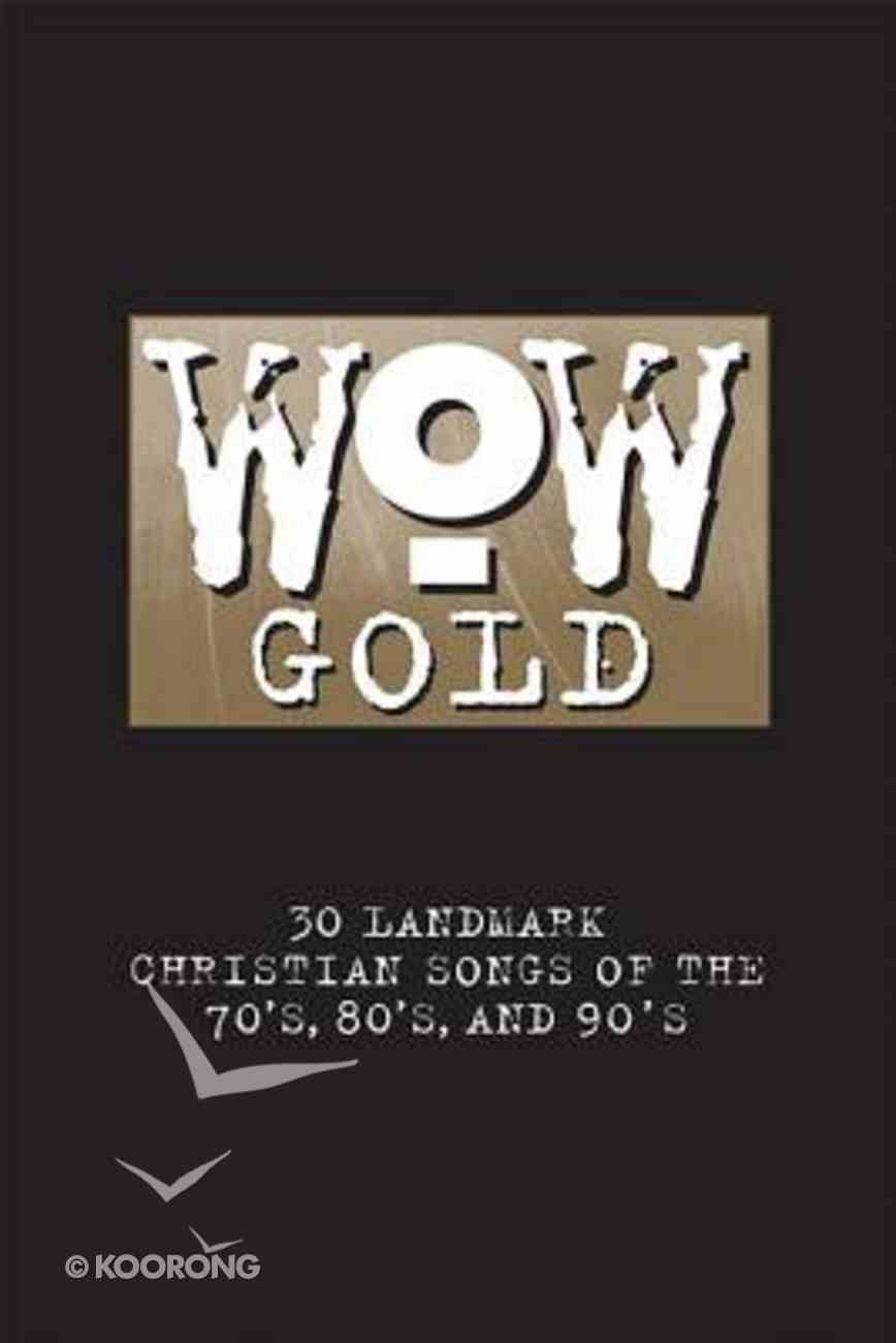 Wow Gold Music Book Paperback