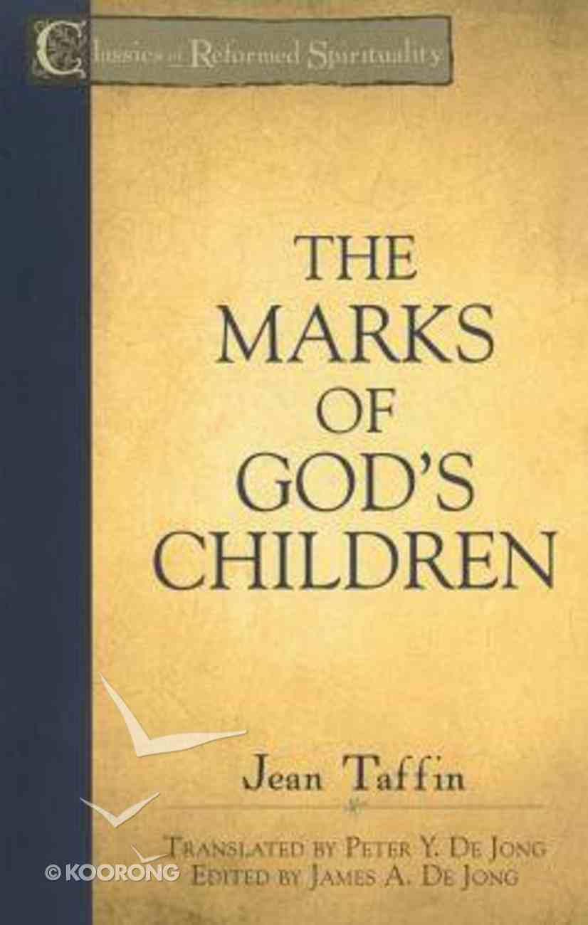 Crs: The Marks of God's Children Paperback
