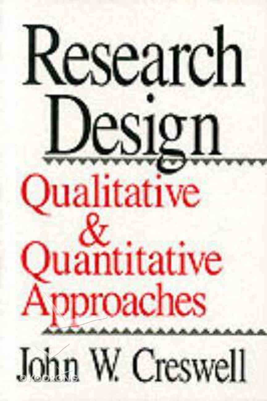 Research Design Paperback