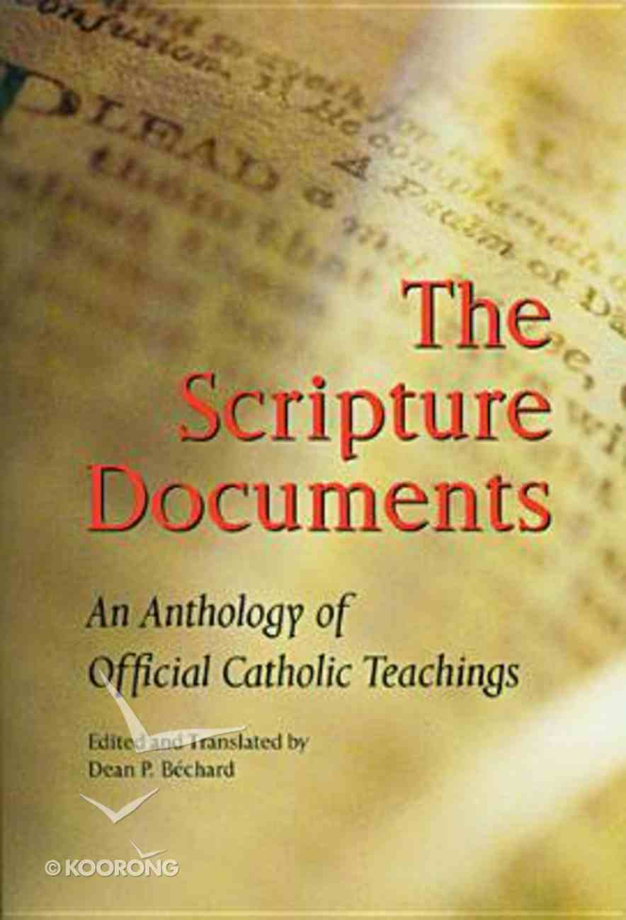 The Scripture Documents Paperback