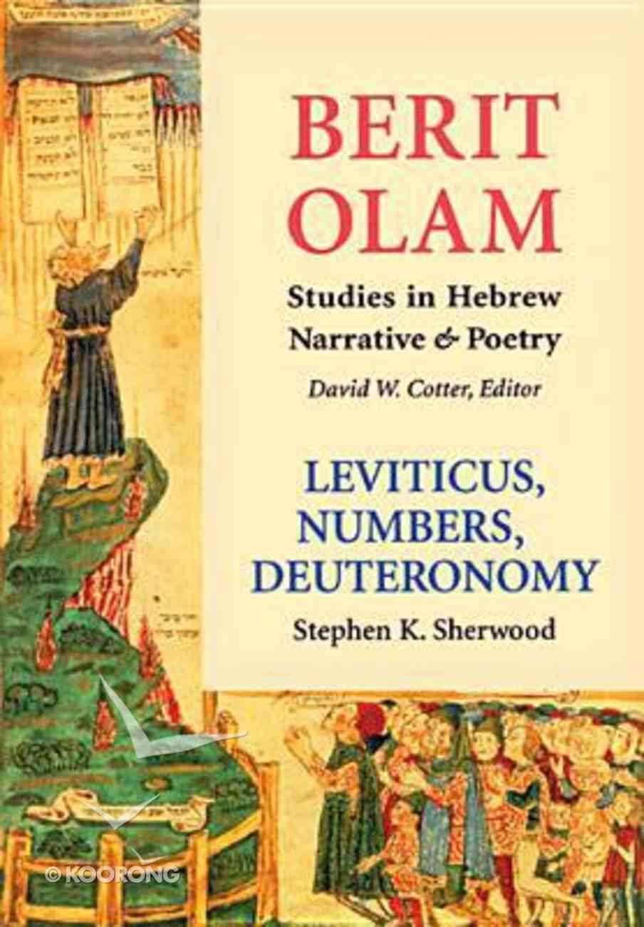 Leviticus, Numbers, Deuteronomy Hardback