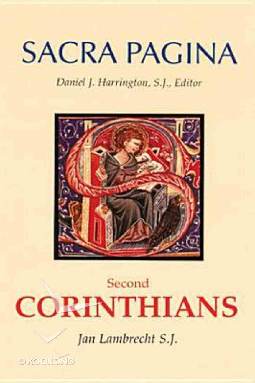 Second Corinthians (#08 in Sacra Pagina Series) Hardback