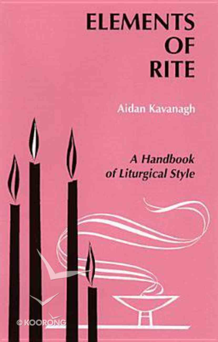 Elements of Rite Paperback