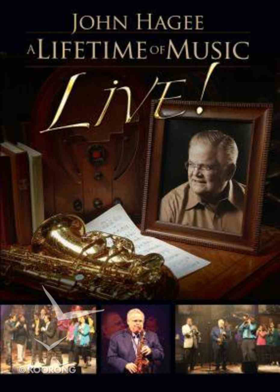 Lifetime of Music Live DVD