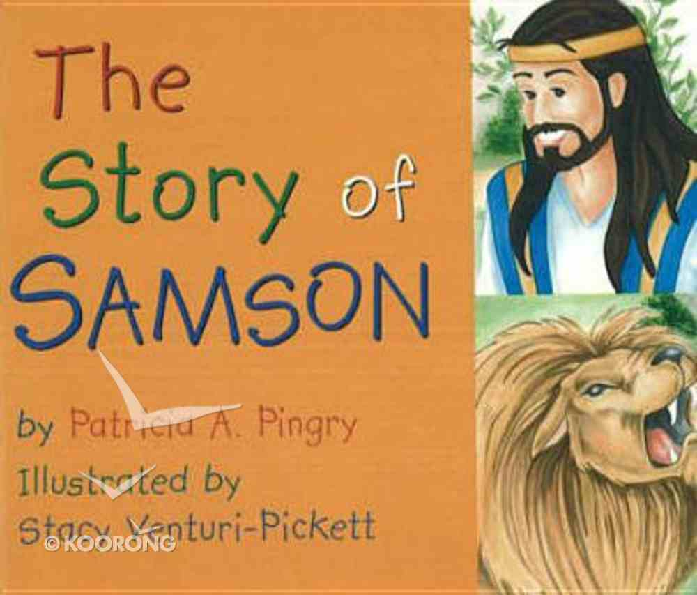 The Story of Samson Board Book
