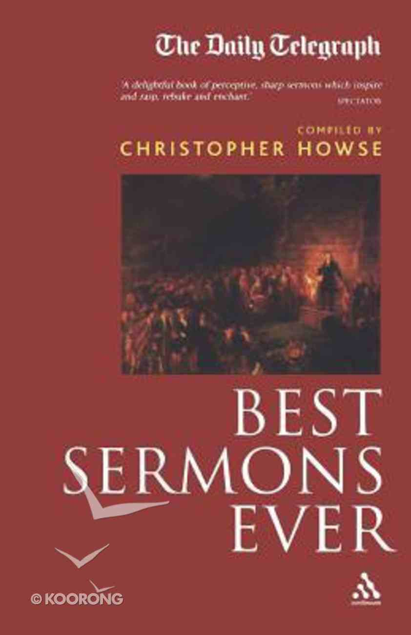 Best Sermons Ever Paperback