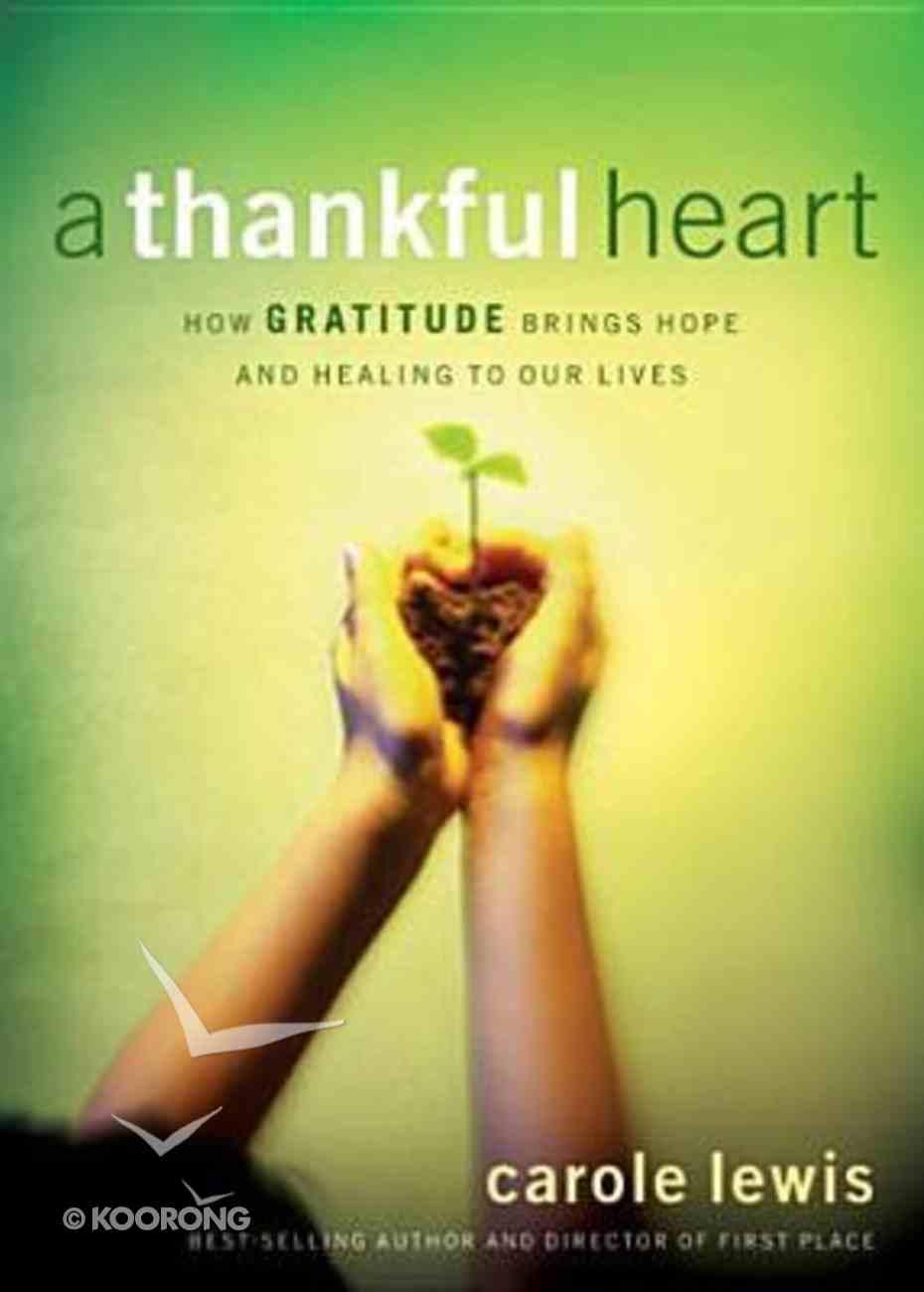 A Thankful Heart Hardback