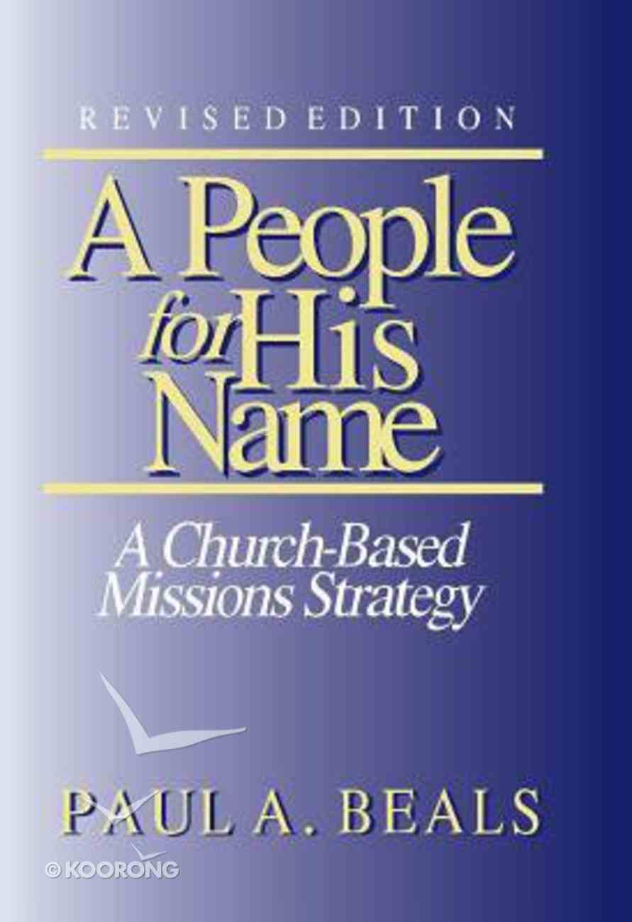 A People For His Name Paperback