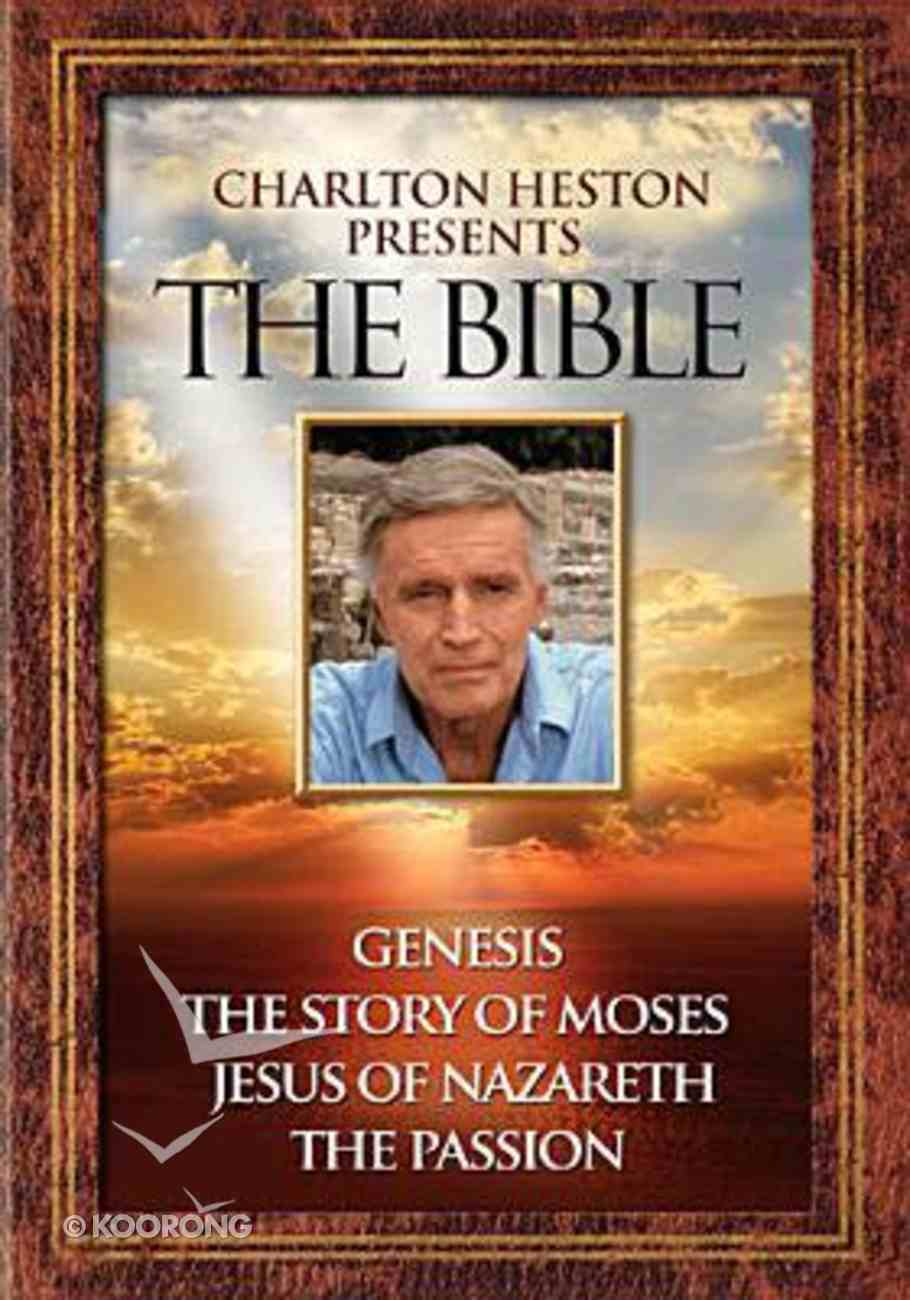 Charlton Heston Presents the Bible Collection DVD