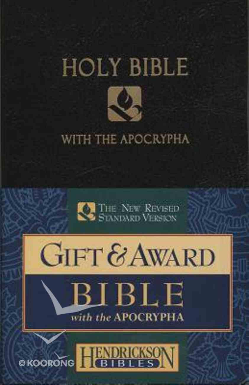 NRSV Gift & Award Bible With Apocrypha Black Imitation Leather