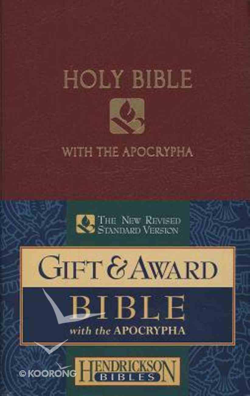 NRSV Gift & Award Bible With Apocrypha Burgundy Imitation Leather