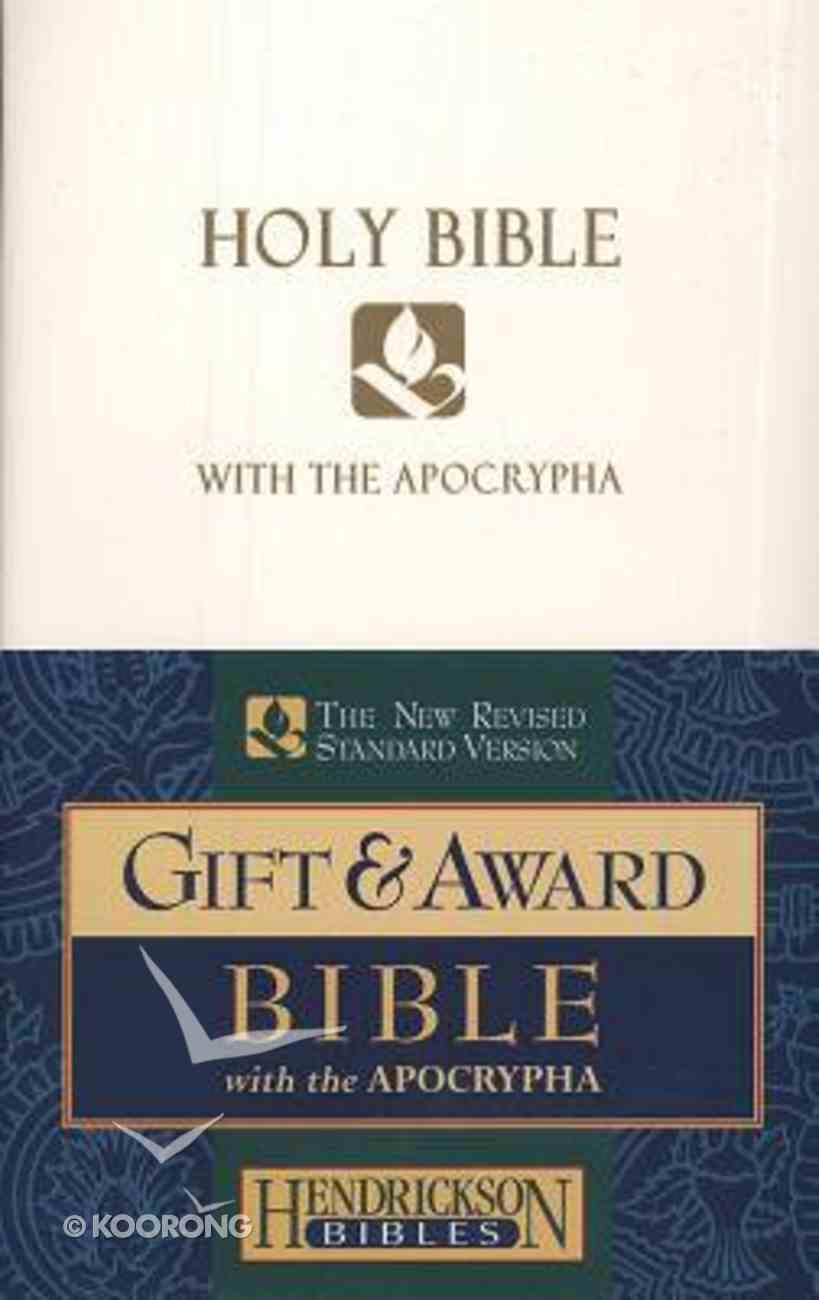 NRSV Gift & Award Bible With Apocrypha White Imitation Leather