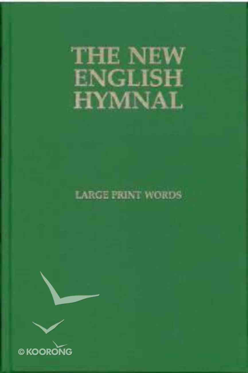 English Hymnal Only (Music Book) (Large Print) Paperback