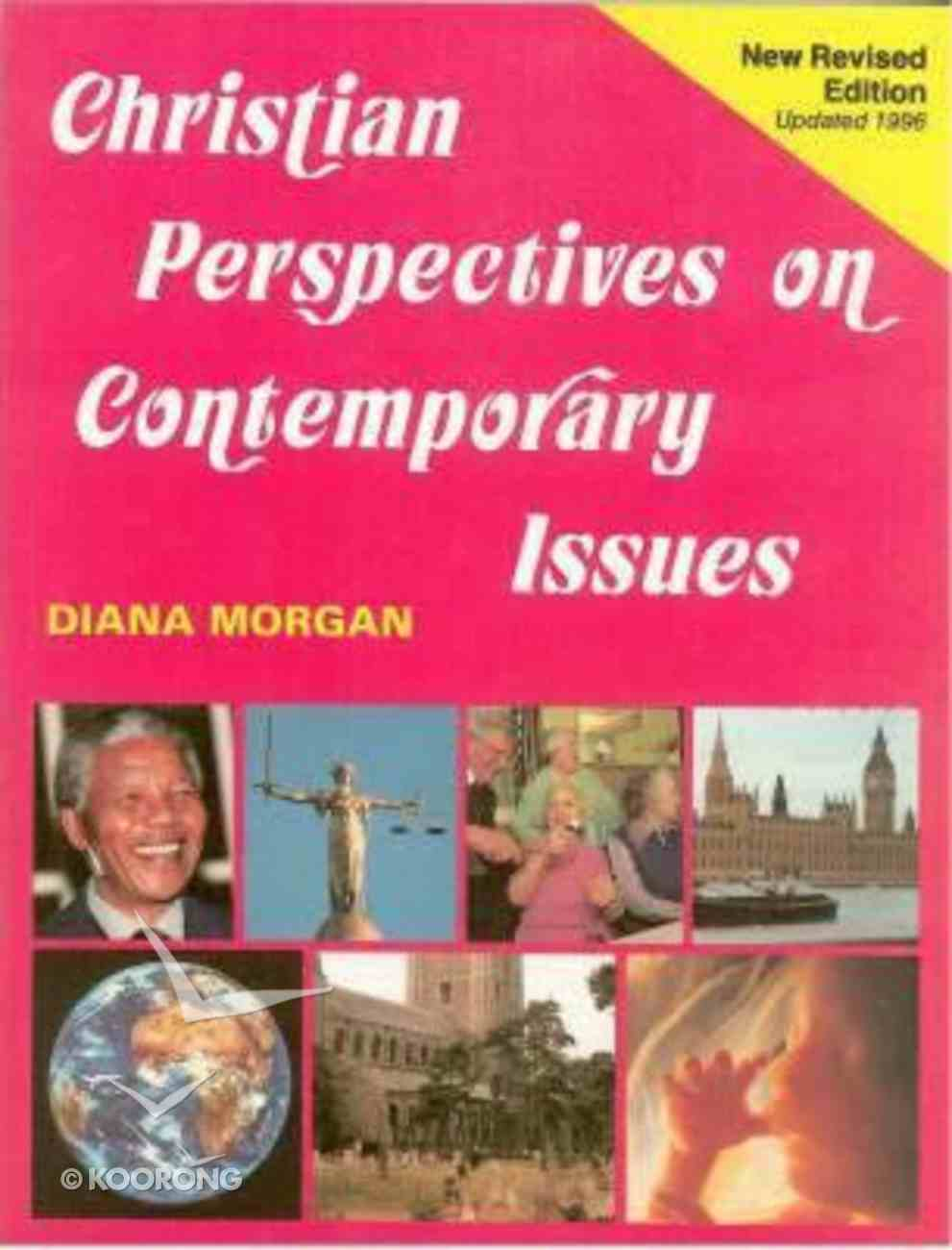 Christian Perspectives on Contemporary Issues Paperback