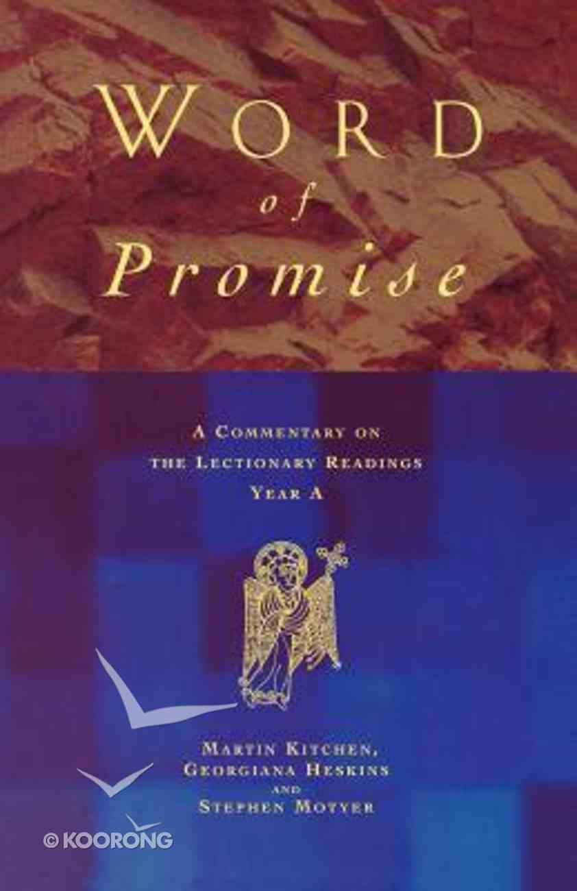 Word of Promise Paperback