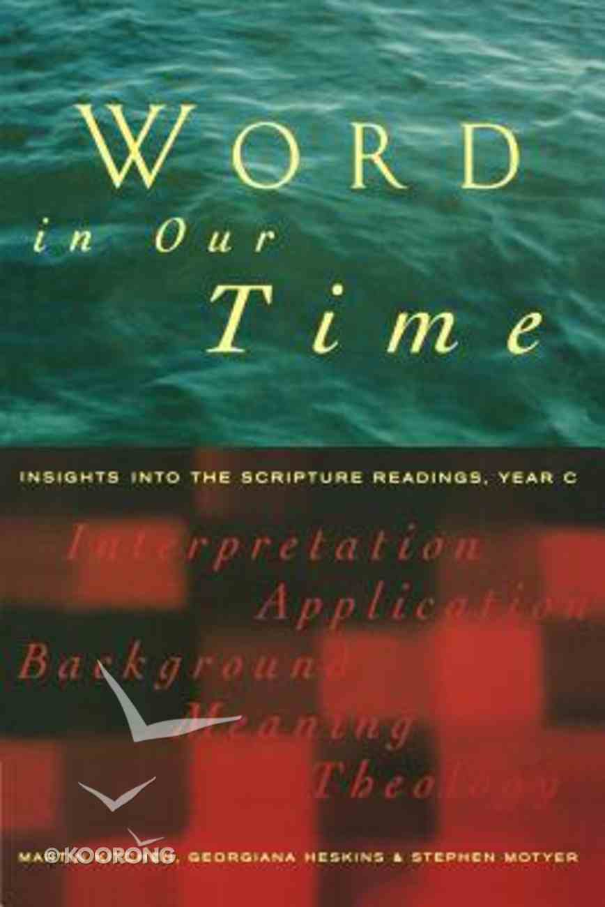 Word in Our Time Paperback