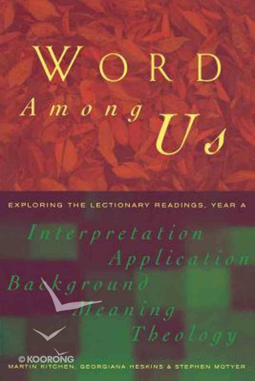 Word Among Us Paperback