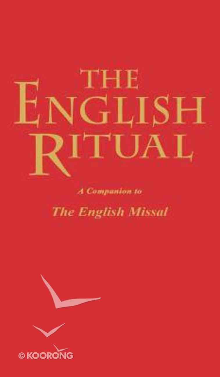 The English Ritual Hardback