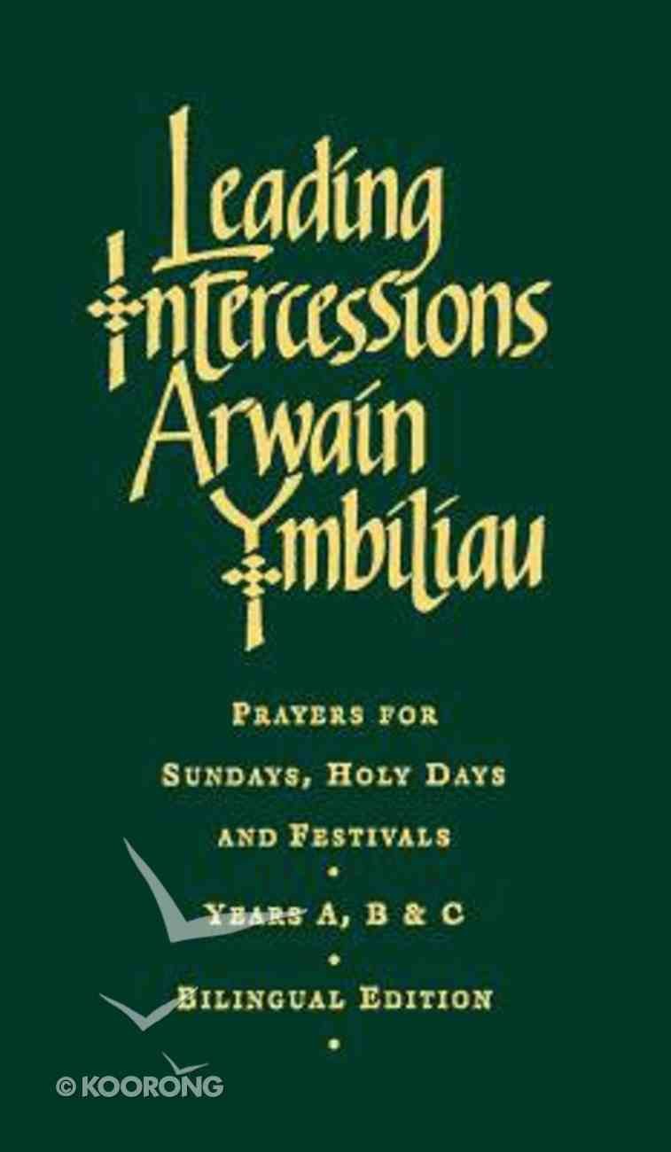 Leading Intercessions Hardback